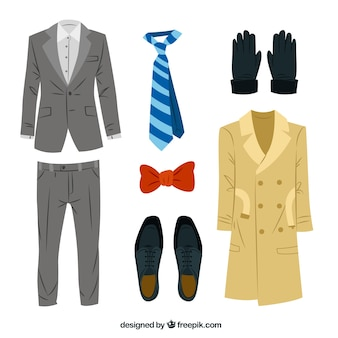 Elegant men's clothing