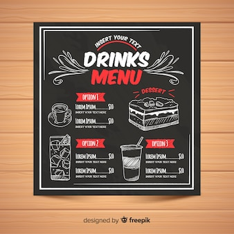 chalkboard menu vectors photos and psd files free download