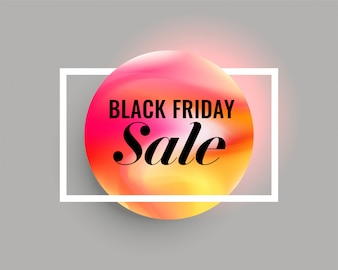 Elegant minimal black friday sale background