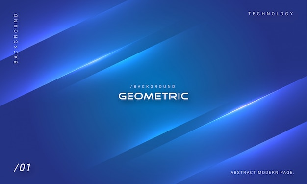 Elegant minimalist blue background