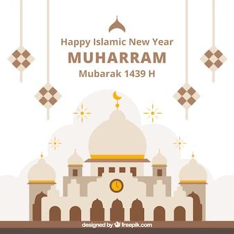 Elegant muharram background