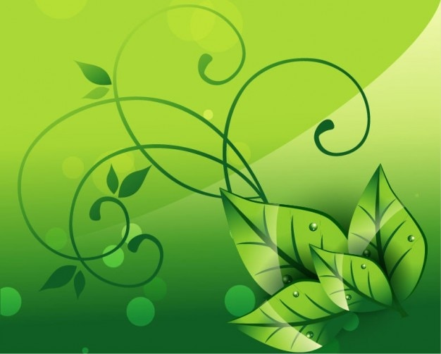 Elegant nature background vector graphic