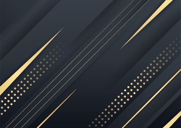 Элегантный темно-синий фон из черного золота с перекрывающимся слоем. костюм для бизнеса, бизнеса, учреждения, вечеринки, праздника, семинара и переговоров