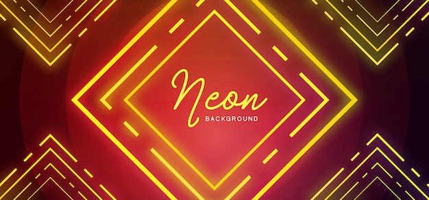 Elegant neon background