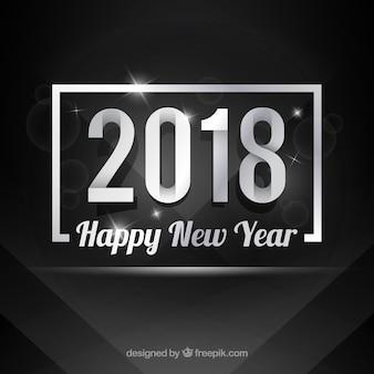 Elegant new year 2018 background