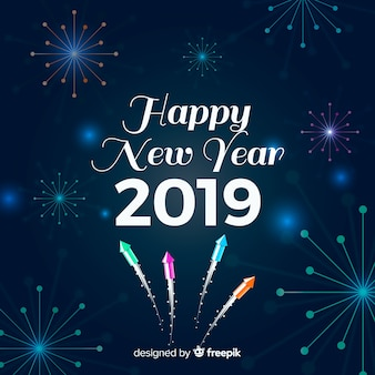 Elegant new year party background