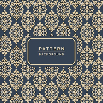 Elegant ornamental baroque style pattern