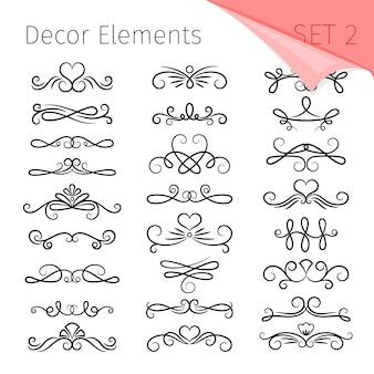 Elegant page dividers