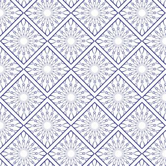 Elegant pattern of mandalas
