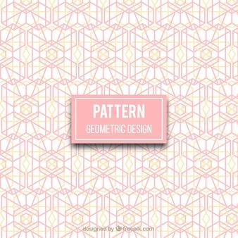 기하학적 디자인으로 우아한 패턴