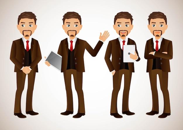 Elegant people-businessman