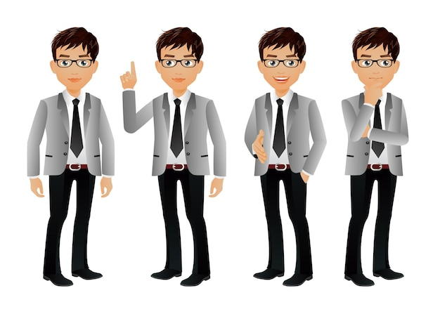 Elegant people businessman