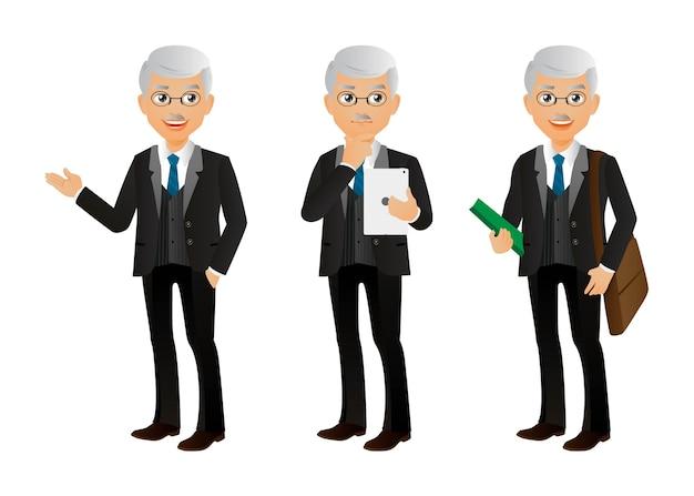 Элегантный человек-бизнесмен
