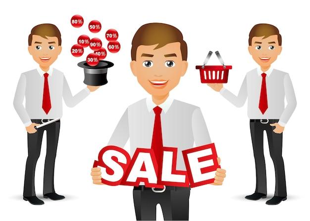 Elegant people-professional.salesman