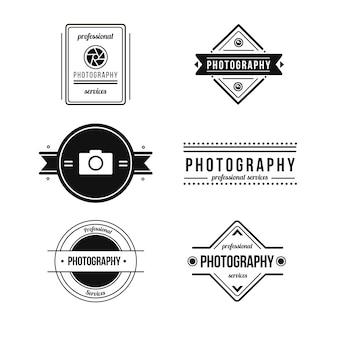 Elegant photography badges