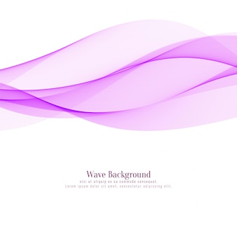 Elegant pink wavy background