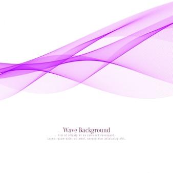 Elegant pink wavy background