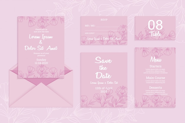 Download Free Printable Wedding Table Numbers Template Vector