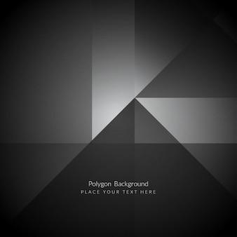 Темный цвет элегантный многоугольник фон форма