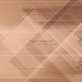 Элегантный дизайн формы многоугольник фона