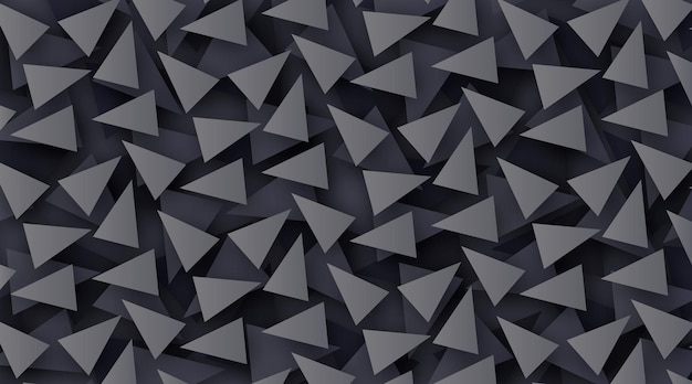 Elegant polygonal wallpaper in dark colors