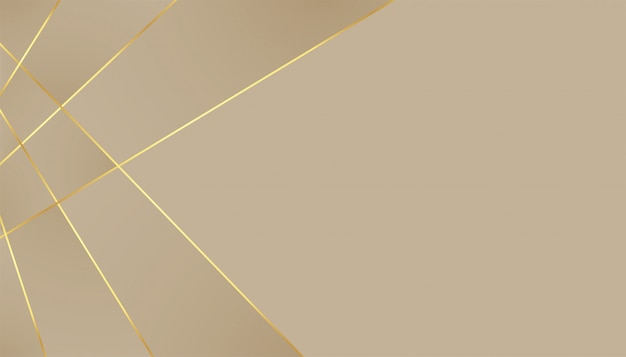 Elegant premium background with golden lines effect