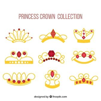 Elegant princess crowns