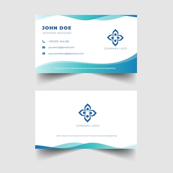 Elegant professional business card