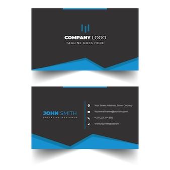 Elegant professional visiting card design