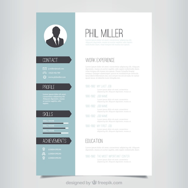 Design resume template idealstalist design resume template gumiabroncs Choice Image