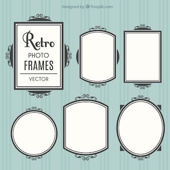 Elegant retro frames