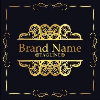 Elegant retro ornamental logo