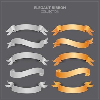 Elegant ribbon collection
