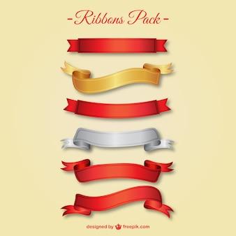 Elegant ribbons pack