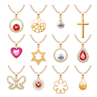 Elegant rubies gemstones  jewelry pendants for necklace or bracelet set. assorted forms - abstract, heart, pearl, cross, star, flower, butterfly. good for jewelry gift .
