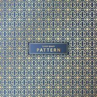 Elegant seamless geometric pattern