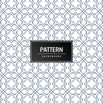 우아한 원활한 패턴 배경 디자인 벡터