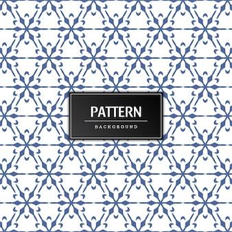 우아한 원활한 패턴 최소한의 배경