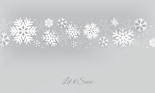 エレガントな雪の背景。クリスマスの氷の雪。