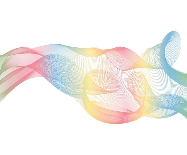 Elegant speed futuristic high-tech swoosh wave stream background.
