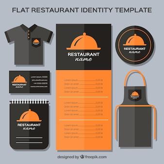 Elegant stationery restaurant