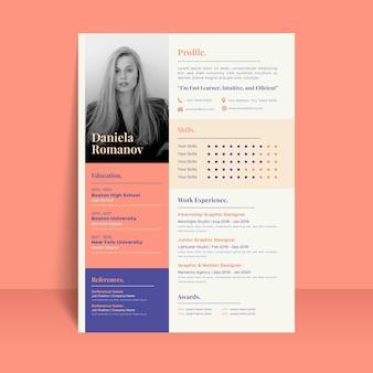 Elegant style application template