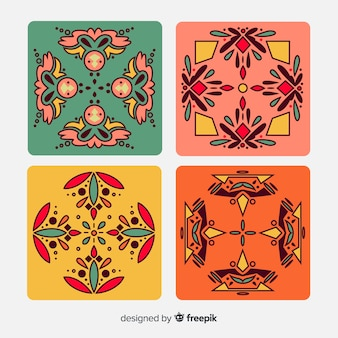 Elegant tile pack