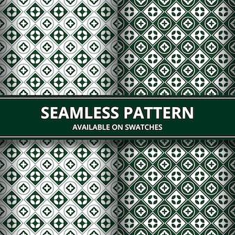 우아한 전통적인 바 틱 원활한 패턴 배경입니다. 배경 벽지를위한 고급 스러움과 고전적인 주제.