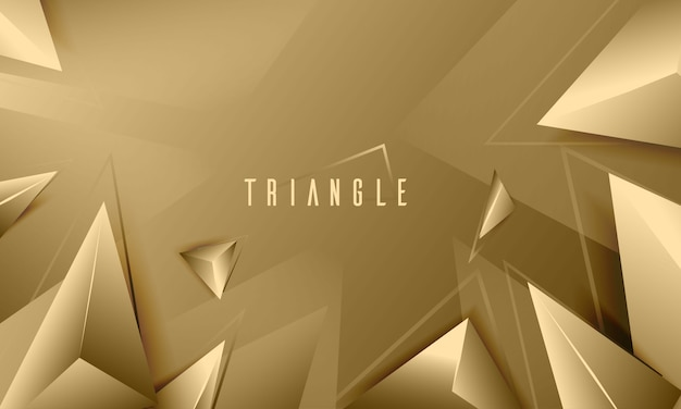 Elegant triangle texture abstract background