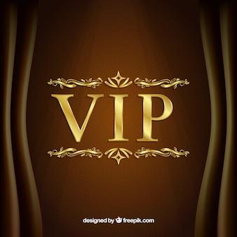 Elegant vip golden background