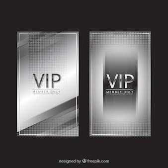 エレガントなvipシルバー招待