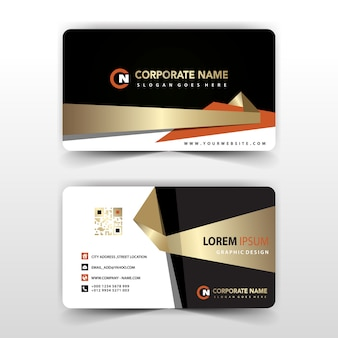 Business card vectors photos and psd files free download elegant visit card illustration colourmoves