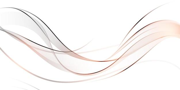 Elegante sfondo ondulato