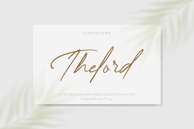 우아한 결혼식 알파벳 문자 글꼴 인쇄술 럭셔리 클래식 세리프 글꼴 장식 빈티지 레트로
